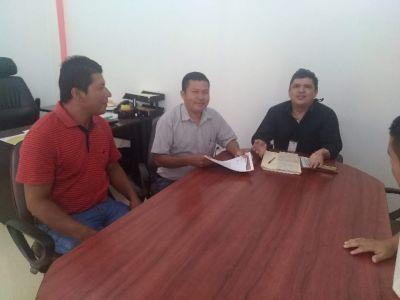 REUNIÓN CON DELEGADO PROVINCIAL DE LA SECRETARIA TÉCNICA DE LA CIRCUNSCRIPCIÓN TERRITORIAL AMAZÓNICA (STCTA)